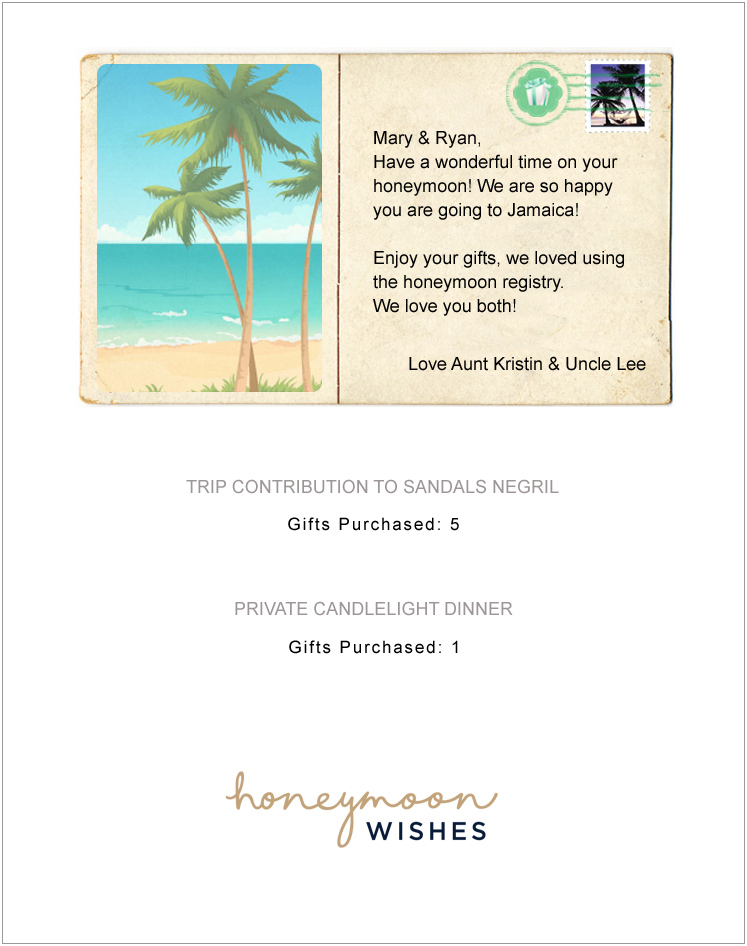 Examples Of Wedding Gift Cards : Sample Gift Certificate Wording