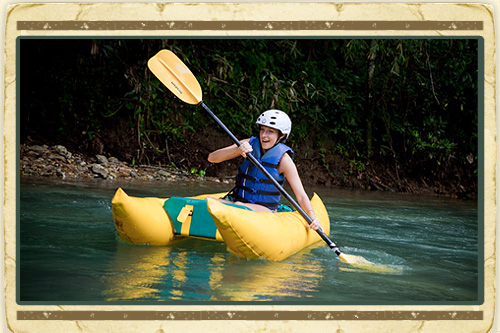 Zipline & River Kayak Adventure