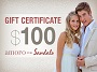Sandals Jewelry Gift Certificate - $100